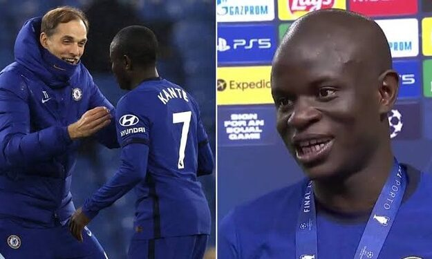 N'Golo Kante finally reveals what Thomas Tuchel told them during halftime