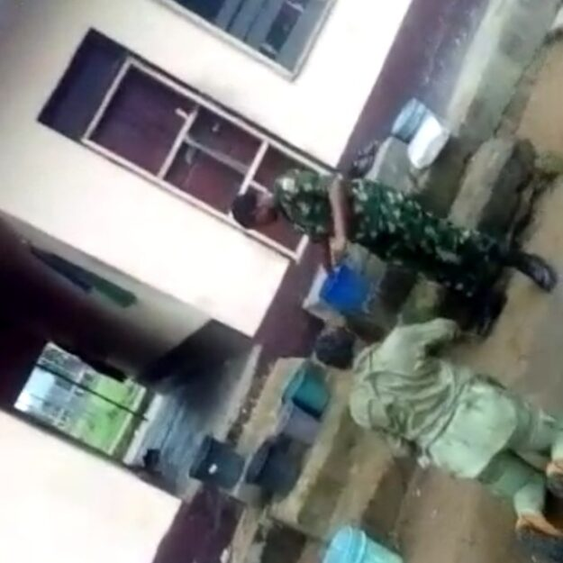 Nigerian Army condemns Officer in video dehumanizing corps member, apologises