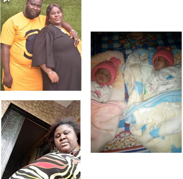 Nigerian Woman Welcomes Twins After 9 years Of Waiting (Photos)