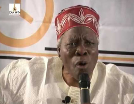 No going back on million-man march by Yoruba nation today —Akintoye