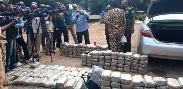 Ondo to Yola with drugs: Military intercepts 248kg blocks of Marijuana in Plateau