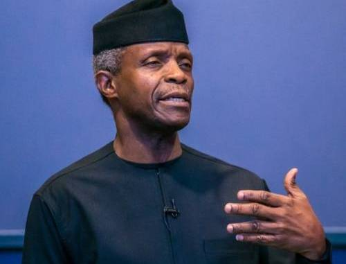 Osinbajo pledges FG's support to uplifting citizens' standard of living