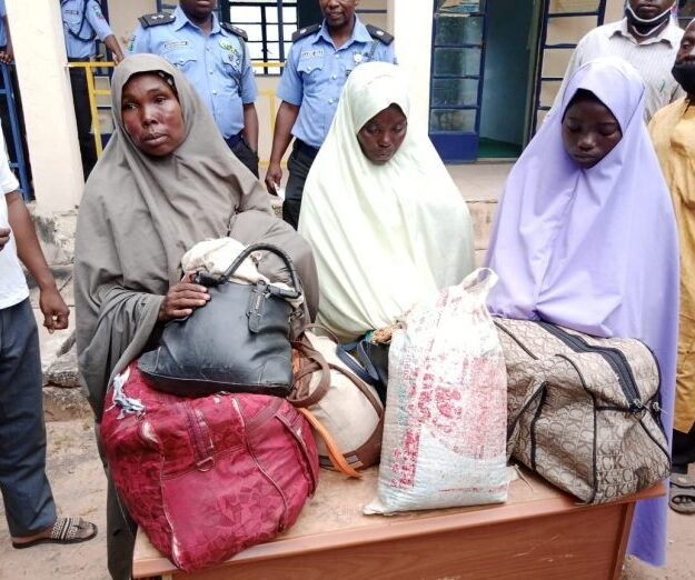 Police arrests women trafficking fuel to bandits, uncovers popular quarters where business thrives