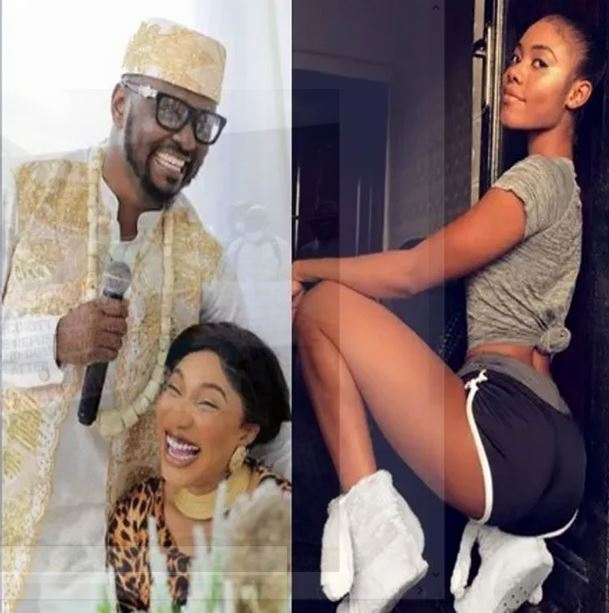 Prince Kpokpogri Reacts After Tonto Dikeh Accused Him Of Having S3X Tapes Of Jane Mena