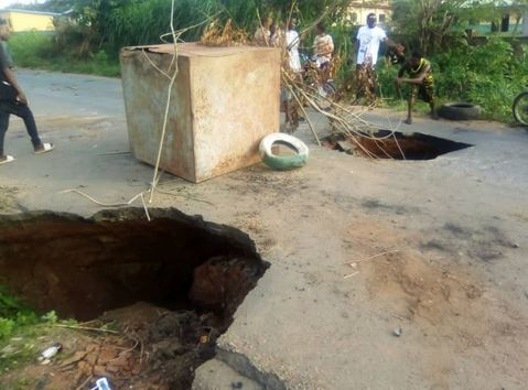 Residents, Commuters Lament As Collapsed Bridge Cuts Off Towns From Ado-Ekiti