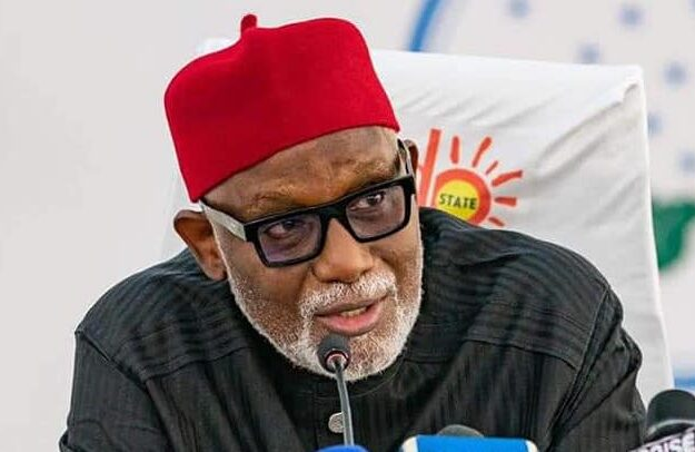 Southern Nigeria will not support any party that picks candidate from North in 2023 – Akeredolu