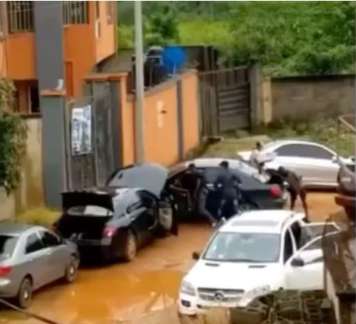 The Shocking Moment A Man Was Dragged Out Of His Car And Shot Dead In Anambra (Video)