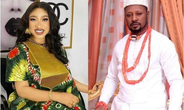 Tonto Dikeh reveals ex-lover prince keeps album of women nudes, alerts some