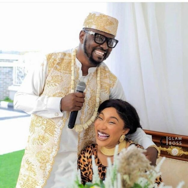 Tonto Dikeh's Ex, Prince Kpokpogri Reportedly Arrested by DSS Over Blackmail and Extortion