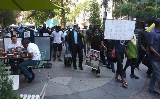 UN Assembly: Ignore IPOB, Yoruba Nation agitators, focus on Buhari, Presidency tells media