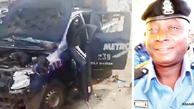 Uproar As Lagos Motorcyclists Kill Policeman, Destroy Patrol Vehicles