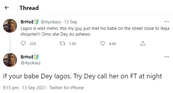 Young Man Bumps Into His Girlfriend Engaging In Sεx Work On The Streets Of Lagos