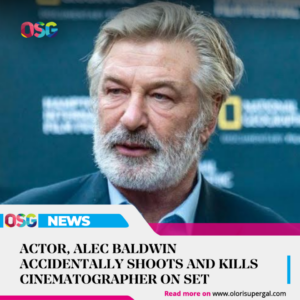 Actor, Alec Baldwin accidentally shoots and kills cinematographer on set