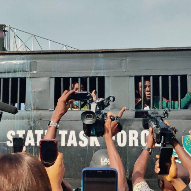 Arrested EndSARS Memorial Protesters Regain Freedom (Video)
