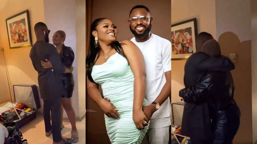 BBNaija Star, Tega Dominic Catches Her Husband Cheating In Their Matrimonial Home