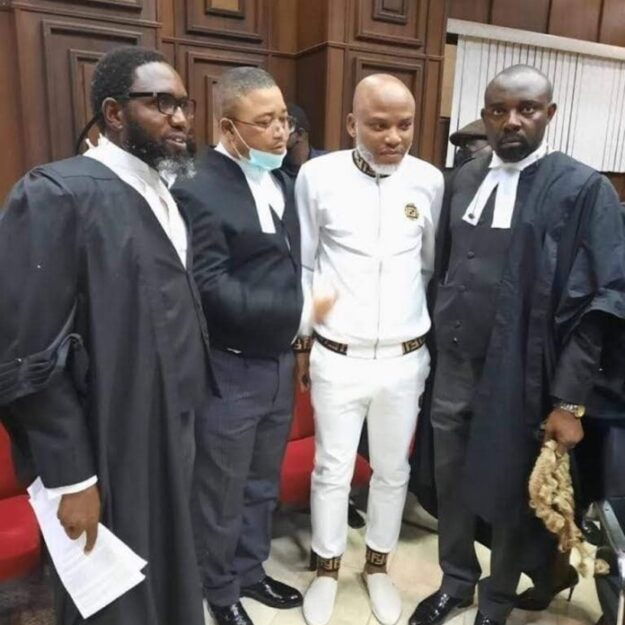 Charges against Nnamdi kanu are worthless, have no base in law – Ejiofor