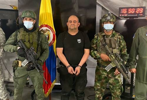 Colombia Captures 'World's Most-Feared' Drug Lord, Otoniel