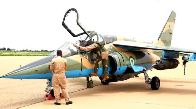 Nigerian airforce disrupts terrorist meeting on Lake Chad with bombs