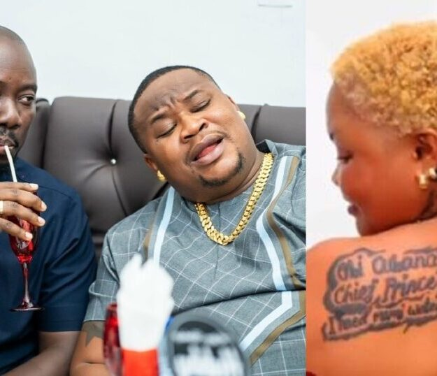 Obi Cubana And Cubana Chief Priest Reacts As Lady Tattoos Their Names On Her Body