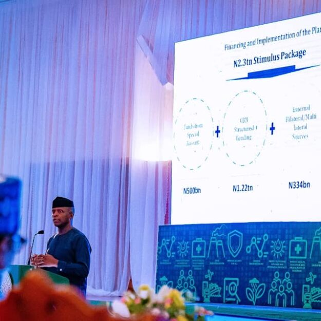 Osinbajo to CBN: Naira exchange rate 'artificially low'