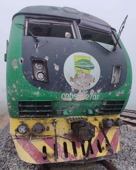 Passengers narrowly escape as bandits set explosives on Abuja-Kaduna train track