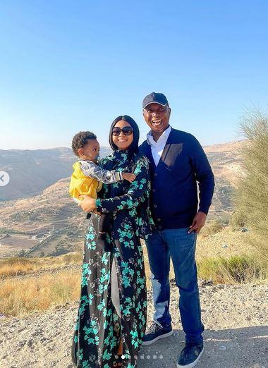 Regina Daniels Celebrates Birthday With Her Husband, Ned Nwoko And Son, Munir (Video)