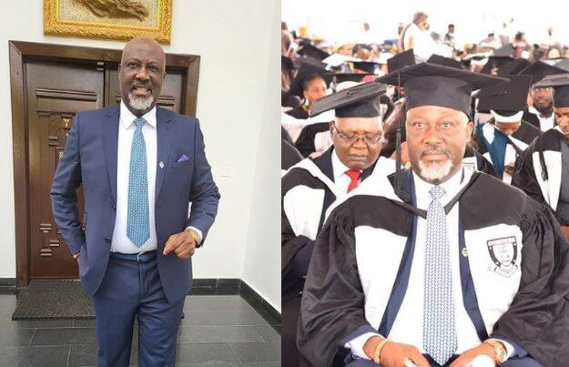 Senator Dino Melaye Emerges Best Graduating Law Student At Baze University [Photos]