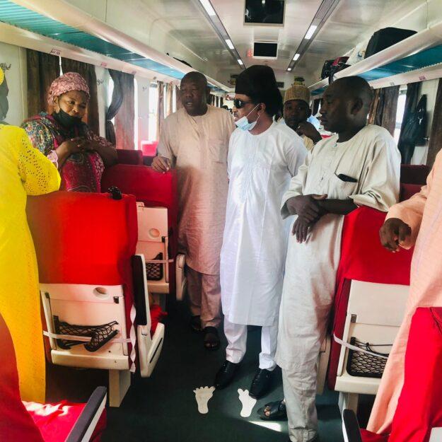 Terrorists bombed, opened fire on Kaduna-Abuja train on Wednesday -Shehu Sani